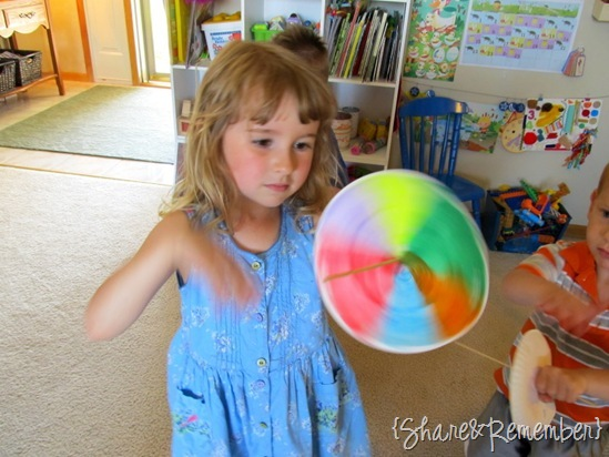 Rainbow Summer Activities