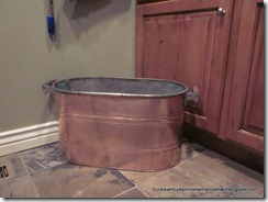 Copper Tub 002