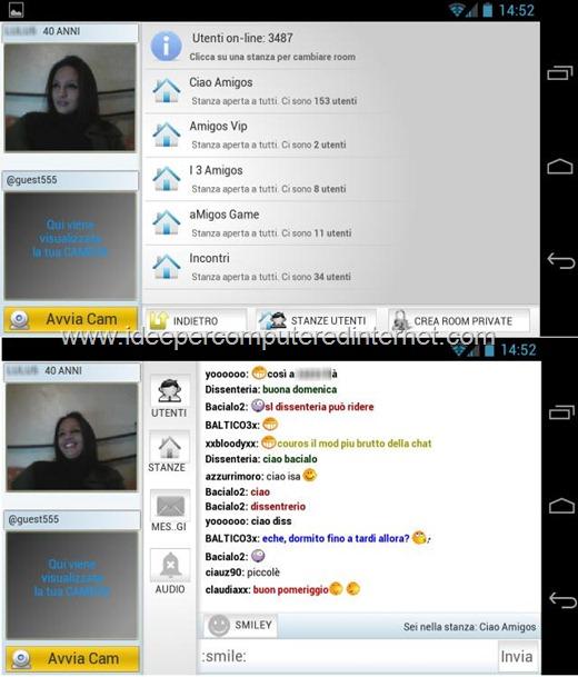 ciao amigos chat gratis live cams4