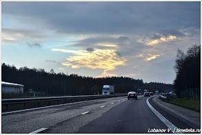 Дорога из Норвегии в Швецию. Фото Лобанова В.