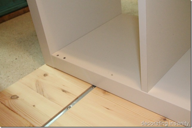 attach a countertop to expedit