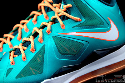 lebron10 dolphins 32 web black The Showcase: Nike LeBron X Setting / Miami Dolphins