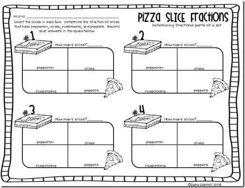 Pizza Box Fractions