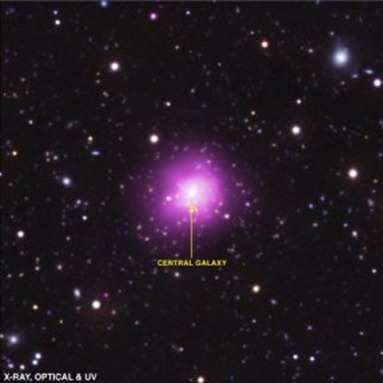 aglomerado de galáxias Fênix