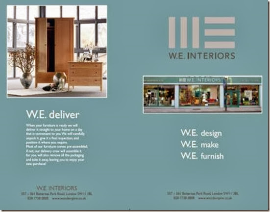 W.E.Interiors.  Battersea, Bespoke Furniture