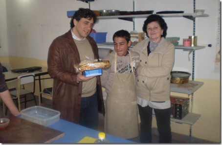 Autoridades municipales visitaron la Escuela Especial 501 de Mar de Ajó