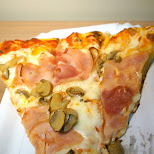 pizza from pizzeria della nonna milan in Milan, Milano, Italy