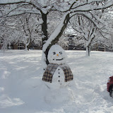 Sasquatch of a Snowman, he was about 10' tall!
