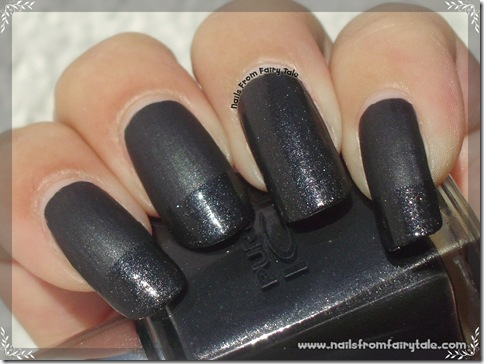 pure ice black velour