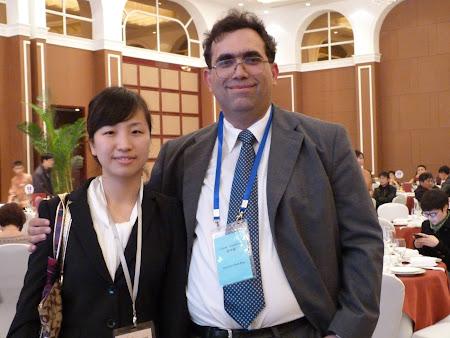3Go China Summit - banchet guvernamental: Reprezentanta biroului de turism al orasului Zhenjiang
