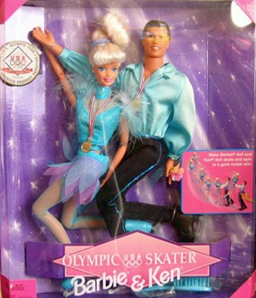 Barbie & Ken Olympic Skater 1997