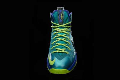 nike lebron 10 ps elite turquoise 6 04 Release Reminder: Nike LeBron X PS Elite Sport Turquoise aka Miami Dade