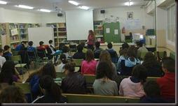 charla con alumnos