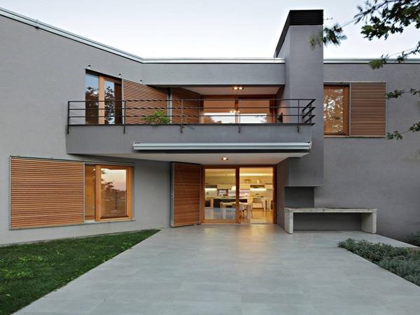 balcon casa moderna