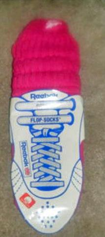80's Reebok flop socks
