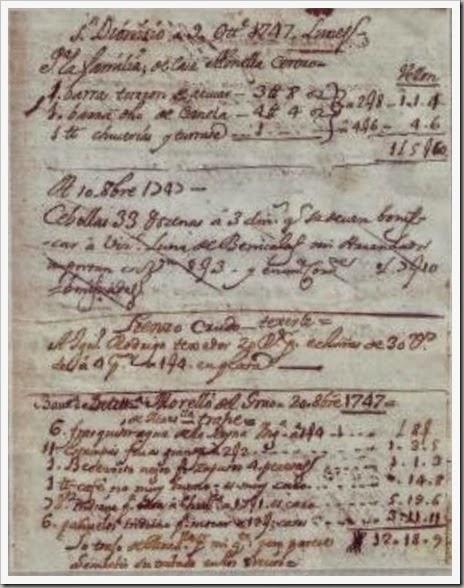 MANUSCRITO 1747