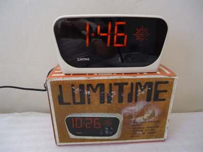 Lumitime CC-71 clock with box