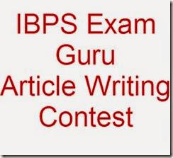 IBPS exam guru Contest