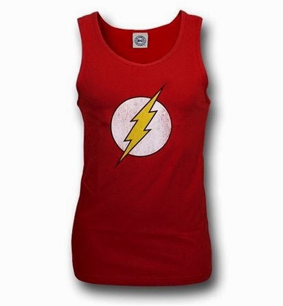 The Flash Tank Top from Super Hero Stuff