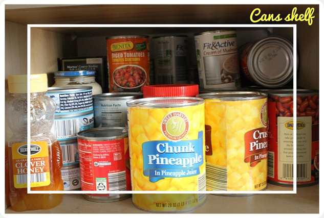 kitchen pantry cupboard clutter fix