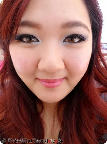 Priscilla Makeup Contest Lancome Alber Elbaz eyes FOTD 2