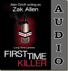FIRST TIME KILLER cover for ACX
