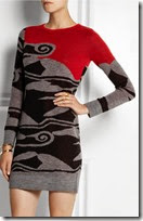 Diane von Furstenberg Intarsia Mini Dress