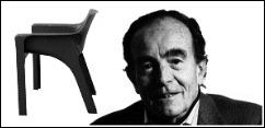 gaudi armchair vico magistretti artemide italy 1970 object plastic. Black Bedroom Furniture Sets. Home Design Ideas