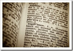Dictionary - Experience
