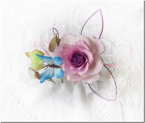 la rosa e la farfalla..