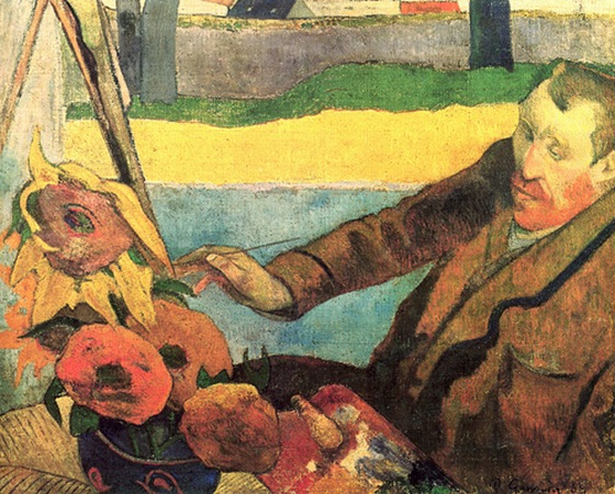 Vincent at the Easel