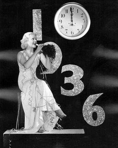 Alice Faye- 1936 New Years