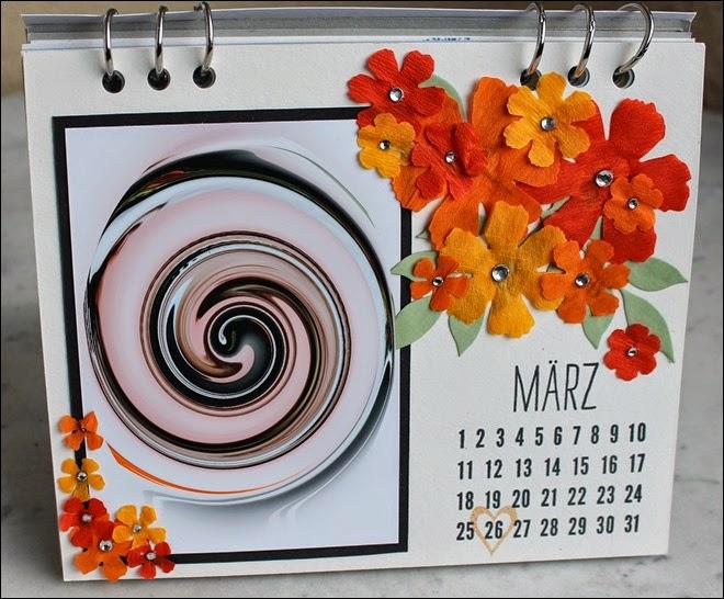 Tischkalender 2015 selbermachen basteln Blanko Vorlage 06