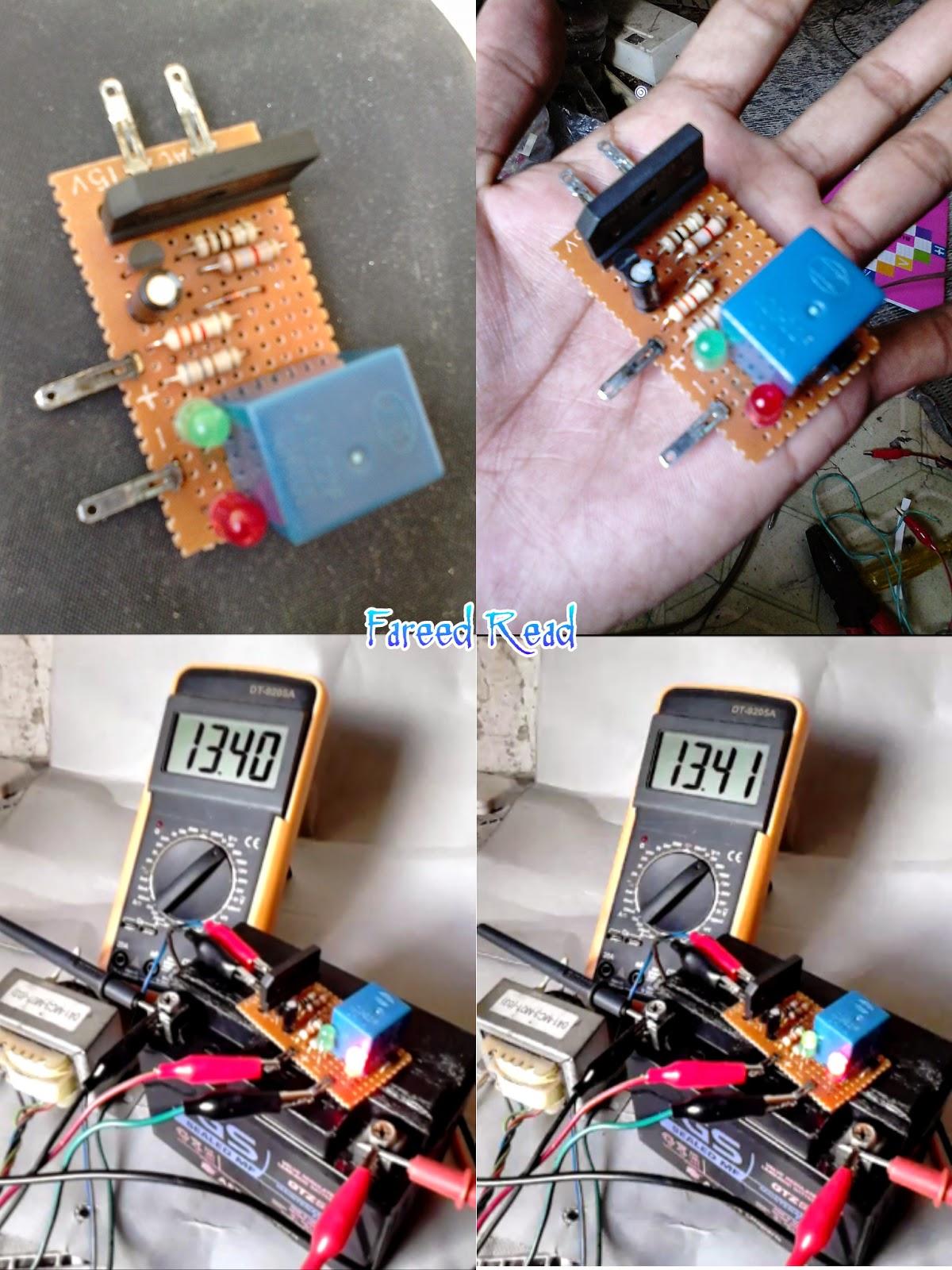 Charger Otomatis Untuk Aki Motor Atau Mobil Auto Cut Off Relay 12 Volt 8 Kaki Transistor Pnp Sejenis Misalnya A1015 Dll Dan Kebanyakan Yang Gagal Membuat Karena Tataletak Ttransistor Itu Beda Dengan Umum Dipasaran