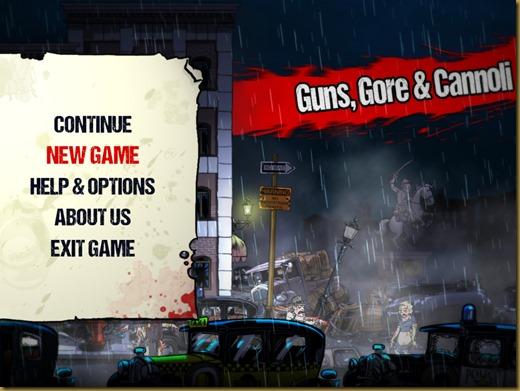 Guns Gore and Cannoliタイトル