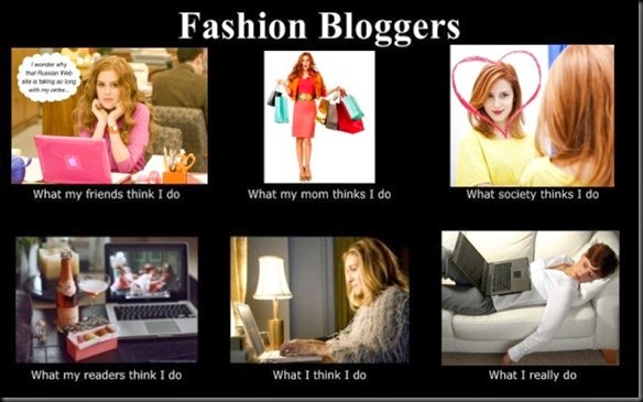 style diary fashion blogger meme