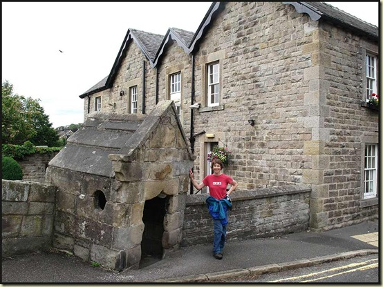 The old toll booth on the old toll bridge at Baslow