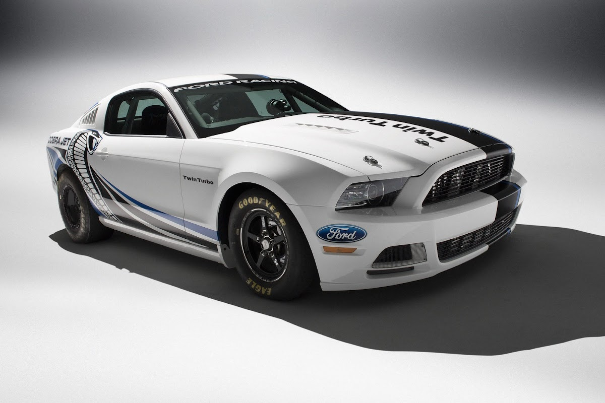 Ford mustang twin jet cobra 1