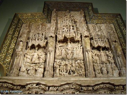 Retablo de Montearagón - Museo Diocesano - Catedral de Huesca