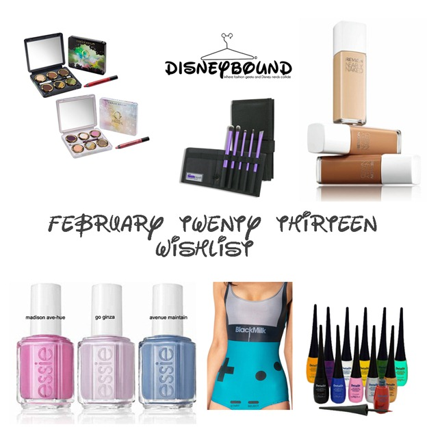 feb 2013 wishlist