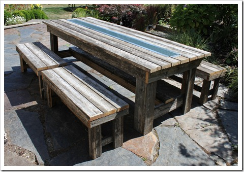 I am happy to also share with you that our other furniture was sold within a week a posting it on Craigslist! I do not like holding onto things if they do ... & Fishtail Cottage: Rustic Outdoor Table\u2026