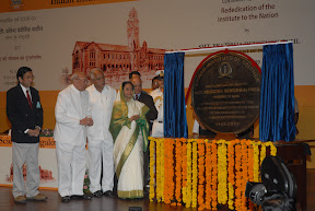 With The President of India Smt. Pratibha Devisingh Patil during Centenary Celebration of IISC, Bangalore on 08-05-2009