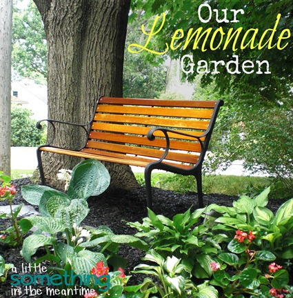 Lemonade Garden Square Banner 2 WM