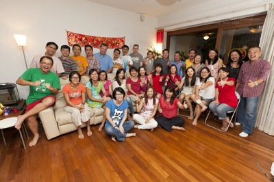 Group Photo CNY 2013  Parents