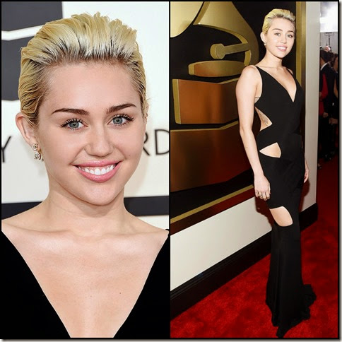Miley Cyrus 57th Grammy