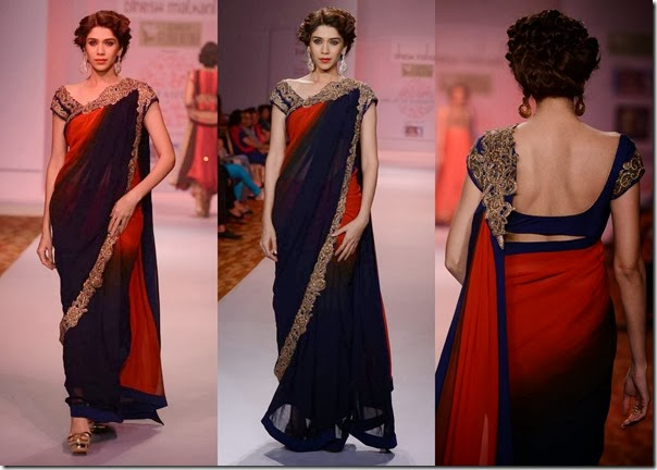 Dinesh_Malkini_Blue_Red_Dual_Color_Saree