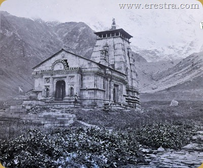 773 (601) neg Kedarnath Temple 1882