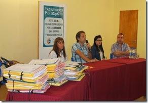 Funcionarios municipales y técnicos provinciales participaron del operativo de firmas