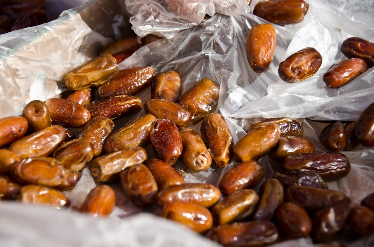 Dates at Dolac market