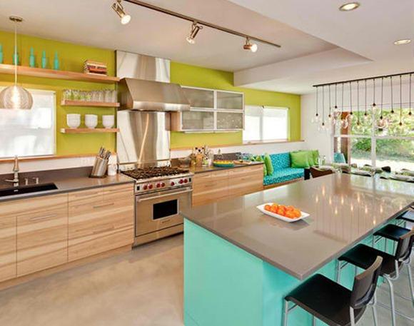cocinas multicolores